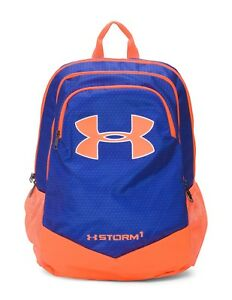 NWT UNDER ARMOUR UA Storm Boys Scrimmage Backpack Blue Orange