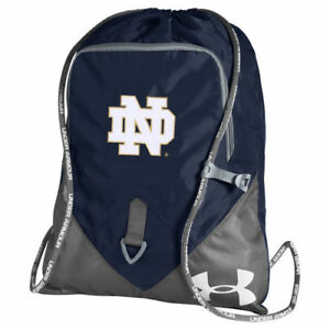 Notre Dame Fighting Irish Under Armour Undeniable Sackpack - Navy