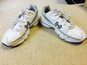 Under Armour Women Running Walking Gym Shoes White 6.5 Used