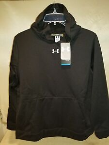 7817 BOYS UNDER ARMOUR UA Fleece Hooded Compression Sweatshirt 12333851 NEW $45
