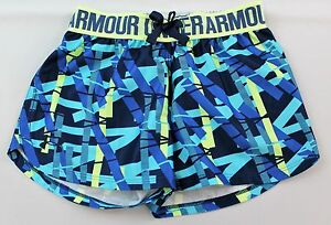 Under Armour Youth Girls Heat Gear Shorts Size XS Retail $23 1291712-448