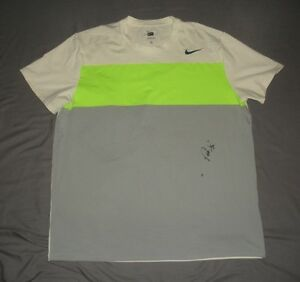 2012 PowerShares Series Pete Sampras Match Used Worn Nike Dri Fit Signed Shirt $1,199.99