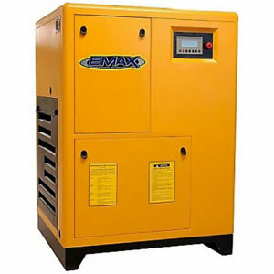 EMAX 25-HP Rotary Screw Air Compressor (208230460V 3-Phase)