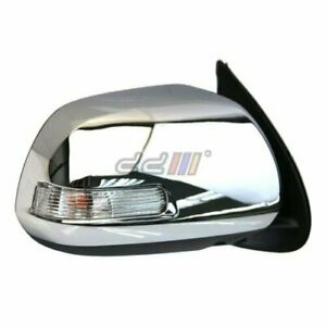 1x Right Electric Adjust Wing Side Mirror with Lamp FOR Hilux Vigo 05 11 $141.00