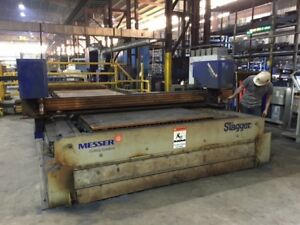 2014 Messer Metalmaster Plus Plasma Cutting System  - Fabricating Machinery