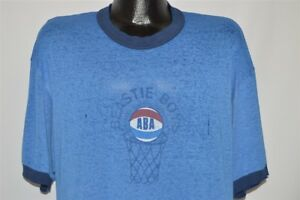 vintage 90s BEASTIE BOYS ATWATER BASKETBALL ASSOCIATION DISTRESSED t-shirt XL