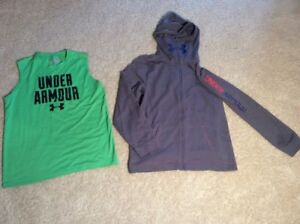 UNDER ARMOUR Lot x3 Boys Kids Heatgear Shirts Sweatshirt - Youth XLarge  YXL XL