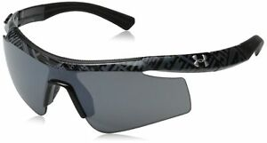 Under Armour Dynamo Youth 8600067-008801 Sunglasses Shiny Black 117 mm