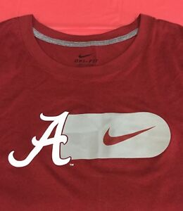 Alabama Crimson Tide Nike Dri-FIT Team Issued Bowl T-Shirt 4XL XXXXL 4X