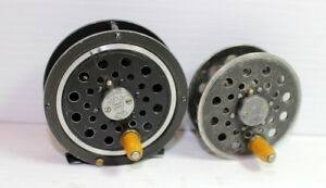PFLUEGER No 1394 PAT PENDING Medalist FLY Reel Antique 1930-39 + spare spool!