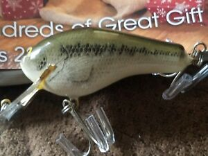 Bagley True Life  Lure Brass Hardware MINTY and SWEET!!!!