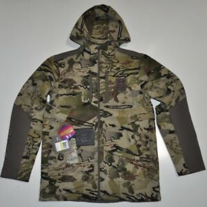 UNDER ARMOUR MEN'S MED UA RIDGE REAPER 13 LATE SEASON CAMO FULL ZIP JACKET NWT