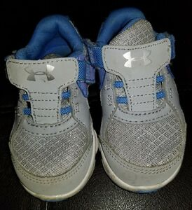 BABY GIRLS UNDER ARMOUR SHOES SIZE 5