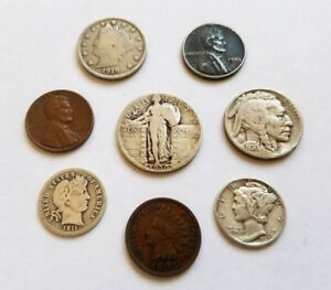 ✯ Classic U.S. Coin Estate Collection ✯ Includes Silver Rare Old US Coin Lot ✯ $24.95