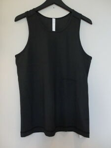 NWT LULULEMON Black Out Run Sleeveless Tank Top Shirt Men's XL
