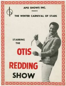 Otis Redding Show Original program for the 1966 tour Jazz & Blues #134296