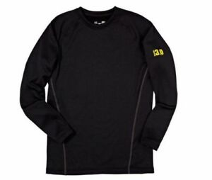 Under Armour men's 3.0 Black  base layer crew Shirt size  3XL NEW in Box