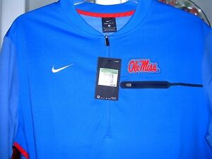 Ole Miss Nike Dry Fit Long Sleeve Shirt XL