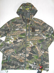 Under Armour Storm 2 Water Resistant Wind Proof Loose Fit Camouflage Jacket XL