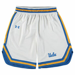UCLA Bruins Under Armour Youth Replica Basketball Performance Shorts - White