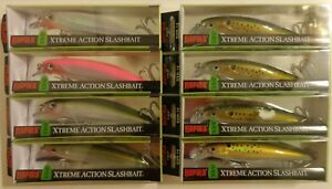 Lot of 8 New Assorted Rapala X-Rap SXR-14 Saltwater Fishing Lures GGHHPOGBNK