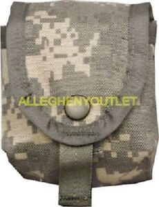 US Military Single Hand Grenade Pouch Army ACU Digital Camo MOLLE II Pouch NEW