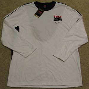 2008 Dream Team Nike USA Basketball On Court Dri Fit Jersey Shirt mens M L S NEW
