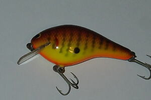 Bagley's KB3 DC9 Dark Crayfish  Chart Fishing Lure All BrassLead Collectible