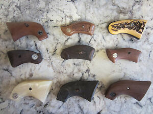 Vintage Gun Parts Grips holsters Boxes luger colt ruger smith & wesson walther.