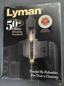 Lyman 50th Edition Reloading Manual Softcover-Worldwide ship