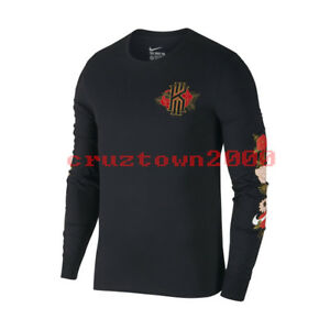 Nike Dri-Fit Kyrie CNY Long Sleeve Basketball T-Shirt Sz S-4XL China Exclusive