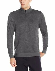 NEW UNDER ARMOUR MENS STORM SWEATERFLEECE 14 ZIP TOP CHARCOAL SIZE 4XL TALL NWT