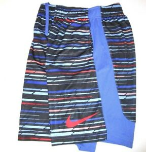 BOY'S NIKE TRAINING SHORTS SPORTS SIZE MEDIUM 10-12 831152 478 DRI-FIT DRY NEW