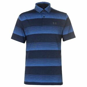 Under Armour Mens Play Off Polo Short Sleeve Performance Shirt Tee Top Button