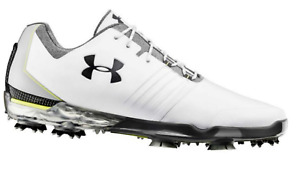 Under Armour Match Play Mens Golf Shoes 3019893-101 White - Pick Size