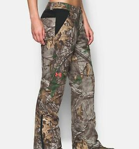UNDER ARMOUR Realtree CAMO Hunting Insulated EXTREME Siberian PANTS Size 4 $240