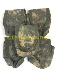 5 Military Hand Grenade Pouch Army ACU Digital Camo MOLLE II Pouches VGC