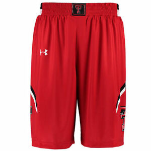 Texas Tech Red Raiders Under Armour Replica Basketball Performance Shorts - Red