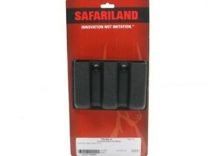 Safariland Slimeline Black Open Top Triple MAG Magazine Pouch For Glock 20
