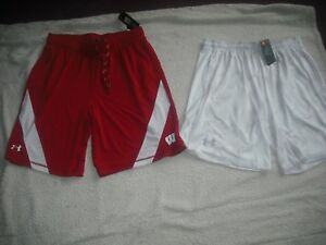 Mens Under Armour NWT Lot 2 Athletic Shorts Size XL Tall Retail $89.98