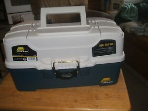 PLANO TACKLE BOX LOADED WITH TACKLE (SEE DESCRIPTION & PICTURES)
