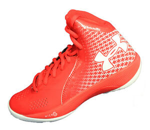 Womens Under Armour Micro G Torch Basketball Shoe -1256436-600