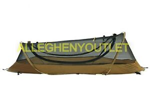 USMC Catoma Pop Up Tent Shelter IBNS (Improved BedNet System) Coyote 64581F EXC