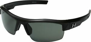 Under Armour Unisex UA Igniter Polarized Satin Black Sunglasses
