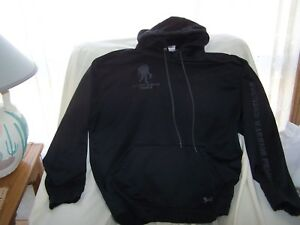 Mens Under Armour Black WOUNDED WARRIOR PROJECT Hoodie with Pouch Pocket XLarge