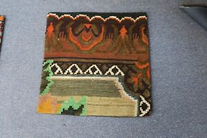 Turkish Anatolian Kilim Pillow Cushion Hand Woven Wool 20