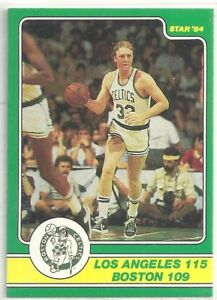 LARRY BIRD 1984 STAR COMPANY Boston Celtics Champs Set BASKETBALL CARD #4