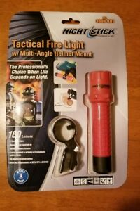Nightstick FDL-300R-K01 Tactical Fire Light with Multi-Angle Helmet Mount New