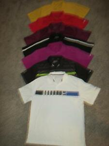 LOT 7 NIKE DRI-FIT TOUR PERFORMANCE POLO GOLF SHIRTS MEN SIZE XL