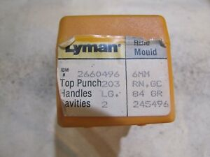 Lyman 245496 6mm LOVERIN Double Cavity Bullet Mold Lead Bullet Casting Mould